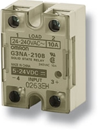 Solid state relay, surface mounting, 1-pole, 25 A,