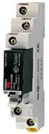Solid state relay, plug-in, 5-pin, 1-pole, 2 A, 4-